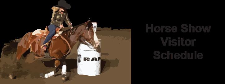 Horse Show Schedule