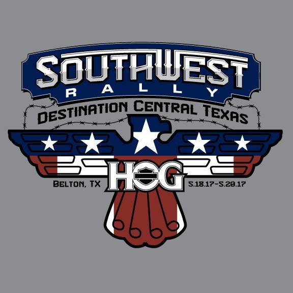 Southwest HOG Rally City Of Temple - Us hog rallies 2017 map