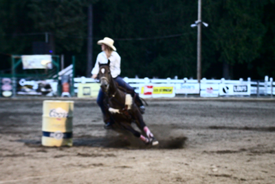 Event Results August 8th Barrel Racing