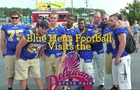 Blue Hens Football Team visits the Fair!
