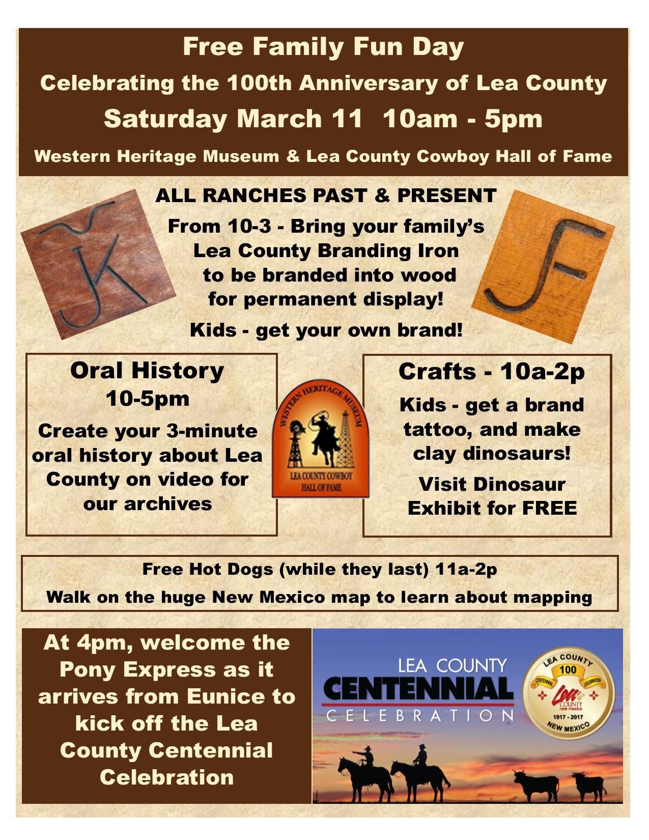 New mexico lea county eunice - Family Fun Day At Western Heritage Museum Hobbs Nm March 11 2017
