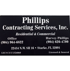 Phillips Contracting Services, Inc.