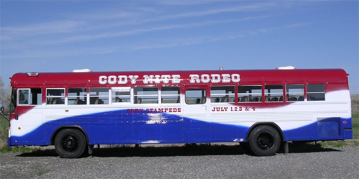 Catch The Rodeo Bus